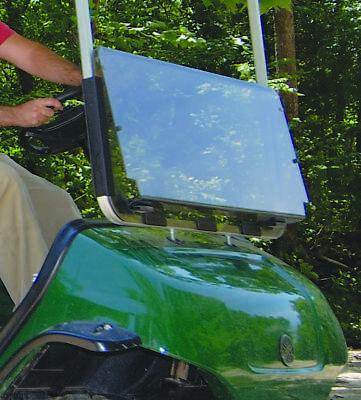 Yamaha Golf Cart Clear Fold Down Windshield G22 Made In USA
