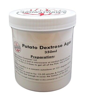 Sterilized Potato Dextrose Agar Pda 350ml