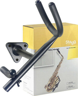 Stagg SLA-ASH Wall Mounted Alto Saxophone Stand or Hanger