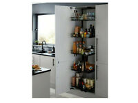 NEW B&Q PULL OUT KITCHEN 5 BASKET UNIT FITS 600MM CABINET rrp £268