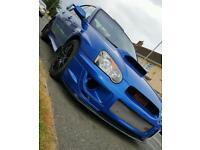 Subaru impreza uk300 wrx with prodrive sti