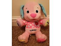 Fisher Price laugh and learn love puppy