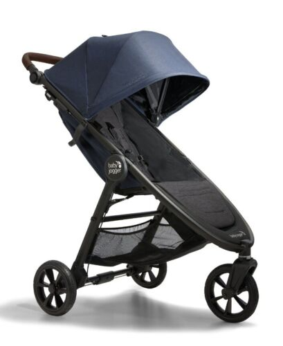 Baby Jogger City Mini GT2 Compact Fold All Terrain Stroller Storm Blue NEW