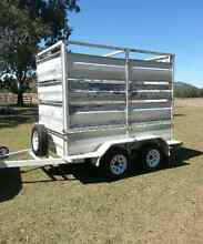 Heavy duty tandem trailer with removable crate Ipswich Ipswich City Preview