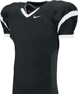 7a734a0dc $55 NEW Nike YOUTH TEAM OPEN FIELD size LARGE Football Jersey BLACK WHITE