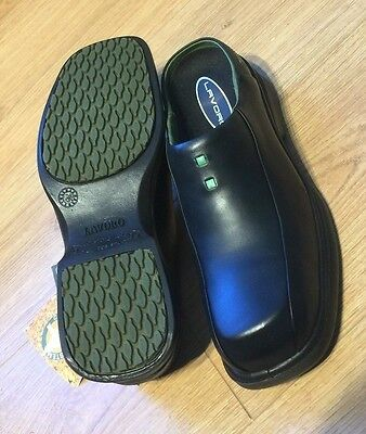 42 EU Lavoro Mens Jamor Safety Shoes 1237 Black 8 UK