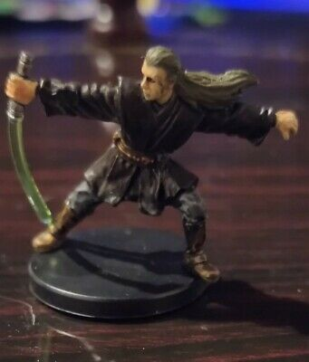 Star Wars Miniatures Jedi Knight 12/60 + Card Revenge of the Sith Free P&P