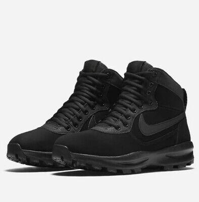 Nike Manoadome Hiking Boots Triple Black 844358 003 Mens UK Size 7.5 EUR 42