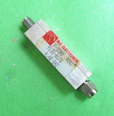 1pc RLC F-5508 4.48GHz SMA Bandpass Filter HP 9135-0178