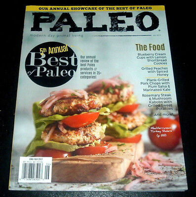 Paleo Magazine June/July 2017 5th Annual Best Of Products Services Recipes