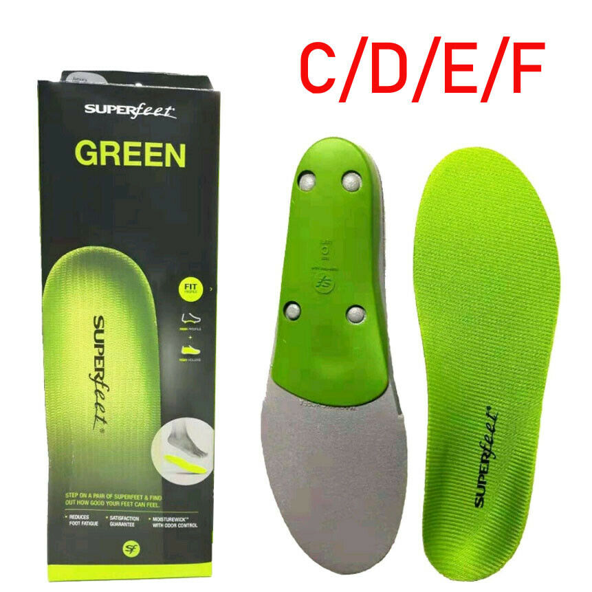 Superfeet GREEN Insoles,Professional-Grade High Arch Orthoti