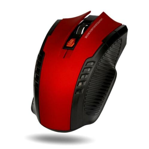 Game Muis 2.4 ghz Mini Draadloze Optische Gaming Mouse