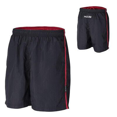 HUUB Training Shorts Mens Triathlon Running Lightweight Rear Zip Sizes XS-XXL