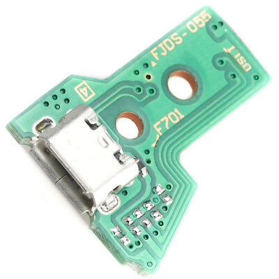 PS4 Playstation 4 Controller Strom Lade Buchse 12 Pin Charger Board Port JDS-055