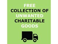Free Charity Items Collection & House Clearance