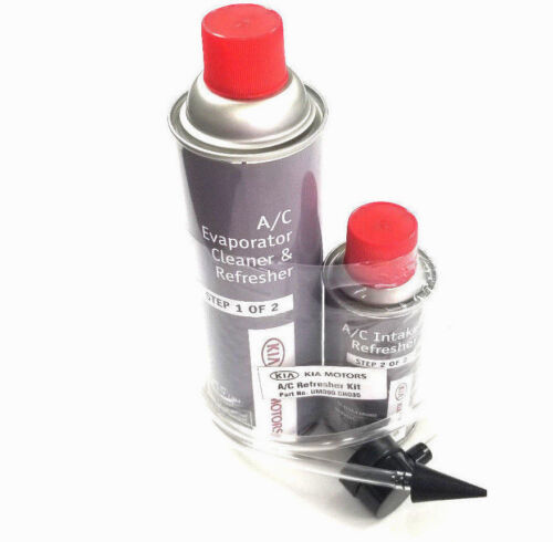 Kia AC Evaporator Cleaner Refresher 2 Part Kit UM090-CH035 Kia OEM