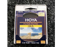 Hoya Genuine slim filter 58mm CIR-PL Circular Polariser