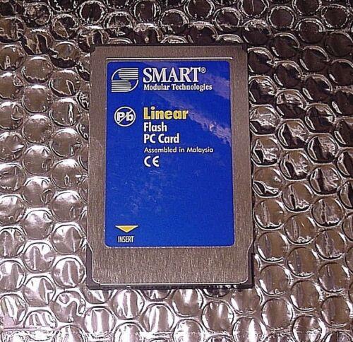 NEW Smart Modular  FL04M-20-11119-03 4MB Memory flash LINEAR card  PCMCIA