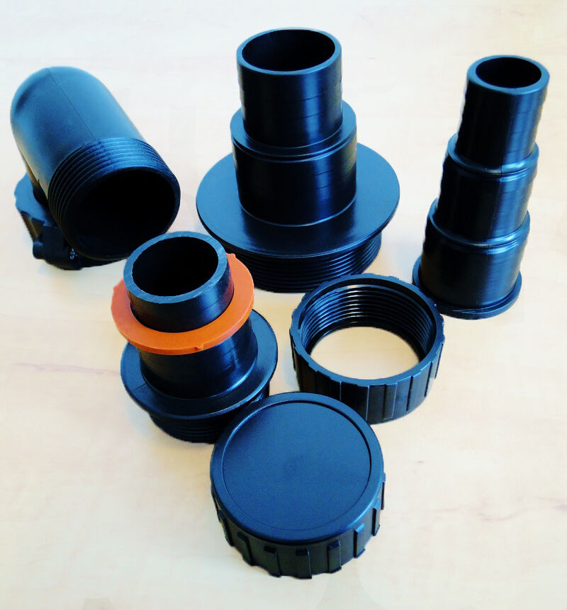 Aps Koi Fish Pond Triple Box Filter System Foams