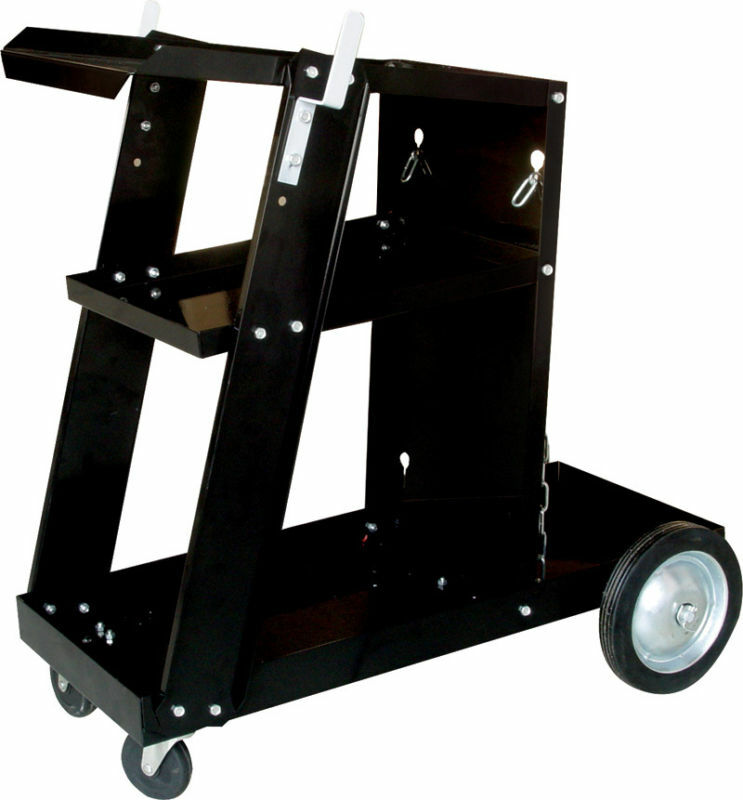 UNIVERSAL WELDING CART W/ TANK STORAGE FOR MIG 100 131 135 MAG ARC 100 200 250