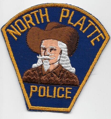 Vintage North Platte Police State Nebraska NE Buffalo Bill patch RARE
