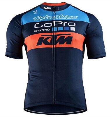 Mens Cycling Jersey Bib Short Kit Bicycle Bike KTM Pro MTB Shirt Team Clothing Mtb Jersey Short