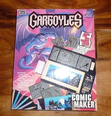 - GARGOYLES - COMIC MAKER RoseArt 1995 NEW MIB Set  RARE HTF