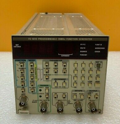 Tektronix Fg5010 Programmable Function Generator Module. For Tm5000. Tested