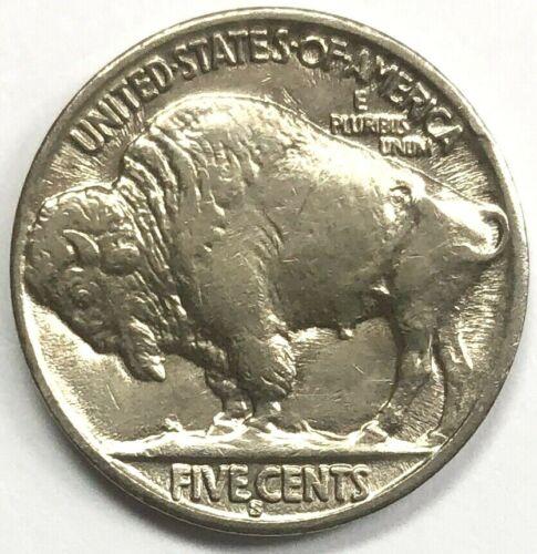 1936-S Buffalo Nickel ~ AU/UNC