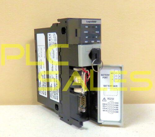 Allen Bradley 1756-L55M16  |  ControlLogix Processor Module 7.5MB Memory