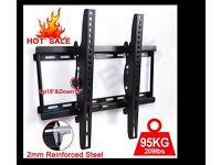 TV WALL MOUNT BRACKET TILT FOR LED LCD PLASMA 3D 32 37 40 42 46 48 50 52 55 inch