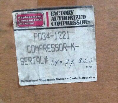 Discounthvaccp-p0341221-carrier Compressor 1hp 208230v R22 1ph Achp Freeship