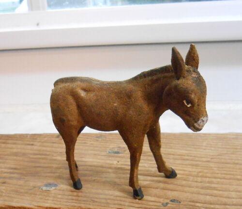 Vintage Germany Donkey - Flocked