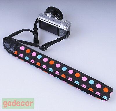Colorful Wave DSLR Camera Neck Strap For Nikon D800 D800E D600 D700 D300S D300