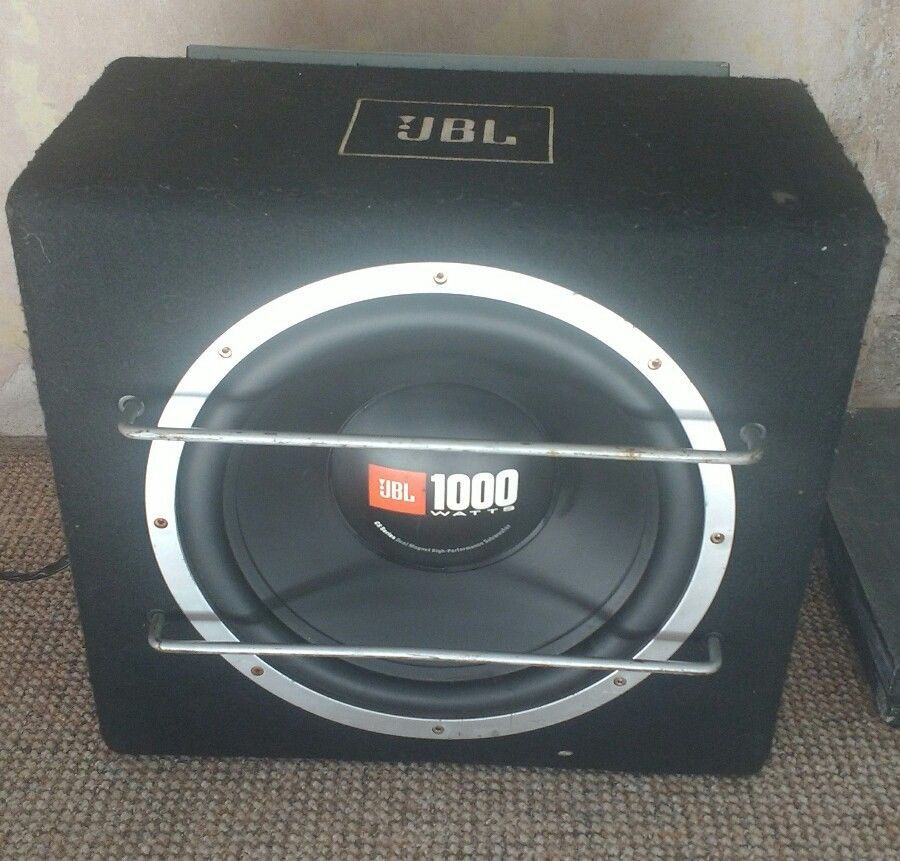 10 inch jbl 1000w subwoofer 400w jbl gto amp in plymouth devon gumtree. Black Bedroom Furniture Sets. Home Design Ideas