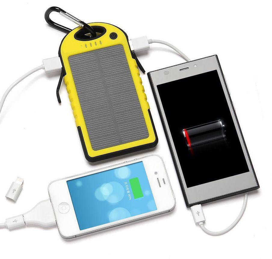 Повер банк на солнечной батарее алиэкспресс