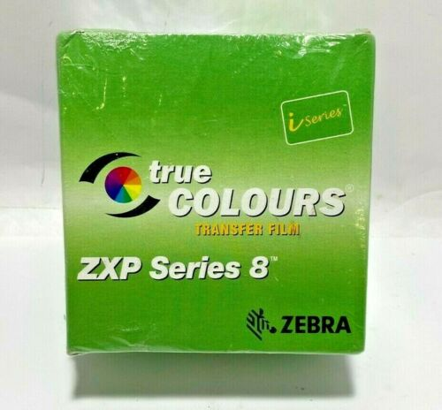 GENUINE Zebra True Colours Transfer Film 800012-601 ZXP Series 8 - 1250 Images
