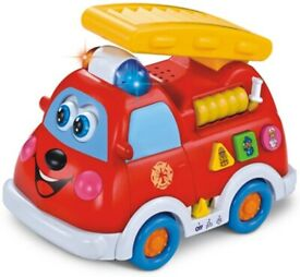 Wholesale Early Educational Baby Fire Truck Learning Toys For 1 Year Old (24 Units, £5.76/Unit)