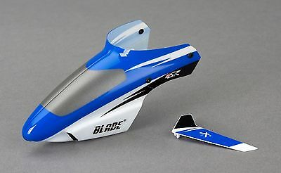 Blade MSR BLH3018 Blue Canopy with Vertical Fin RC Heli Spares