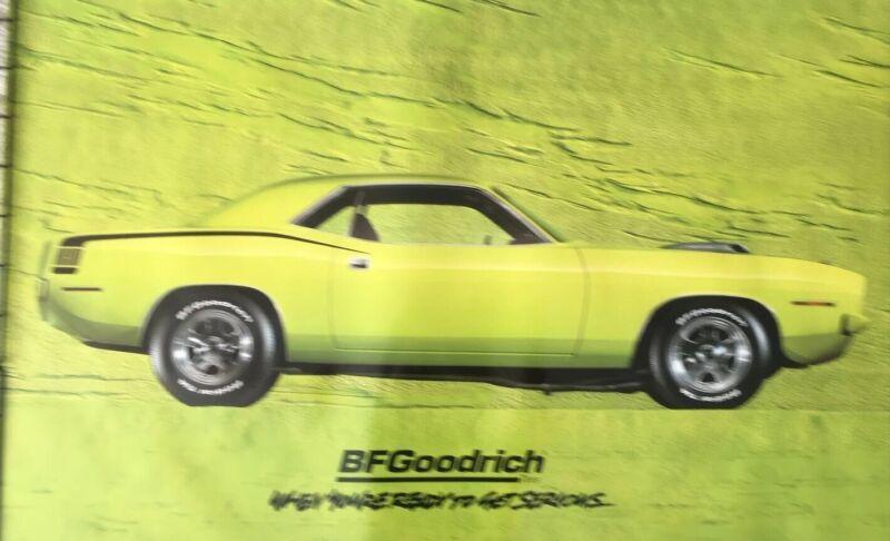ORIGINAL B.F. GOODRICH 1970 Plymouth Cuda New Unused Condition 2