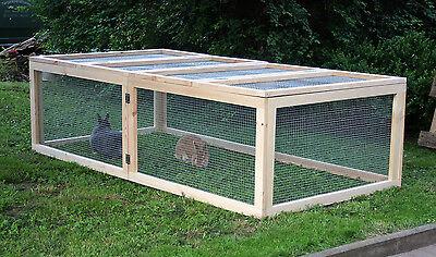 freigehege auslauf 200x100x55 freilauf gehege nager meerschweinchen kaninchen. Black Bedroom Furniture Sets. Home Design Ideas