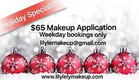 Makeup Application - Holiday Special!!!