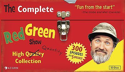 The Complete Red Green Show High Quality Quantity Series Collection Dvd Set  New