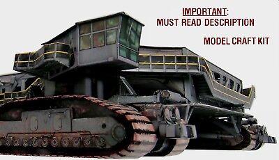 Crawler Transporter, 1:72 for Dragon Apollo Saturn V & LUT Craft Model Pls. Read