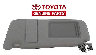 Toyota Camry 2007 2011 New Gray Drivers Side Sun Visor With Sunroof