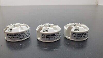 3 New Omega Tx12 Pt100 Rtd In-head Temperature Transmitter 0-100c Free Ship