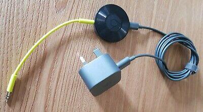Google Chromecast Audio 2nd Generation Media Streamer - Black