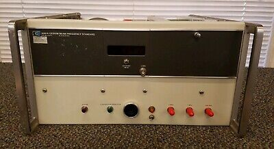 Hp - Agilent - Keysight 5061a Cesium Beam Frequency Standard Untested Opt 1 4