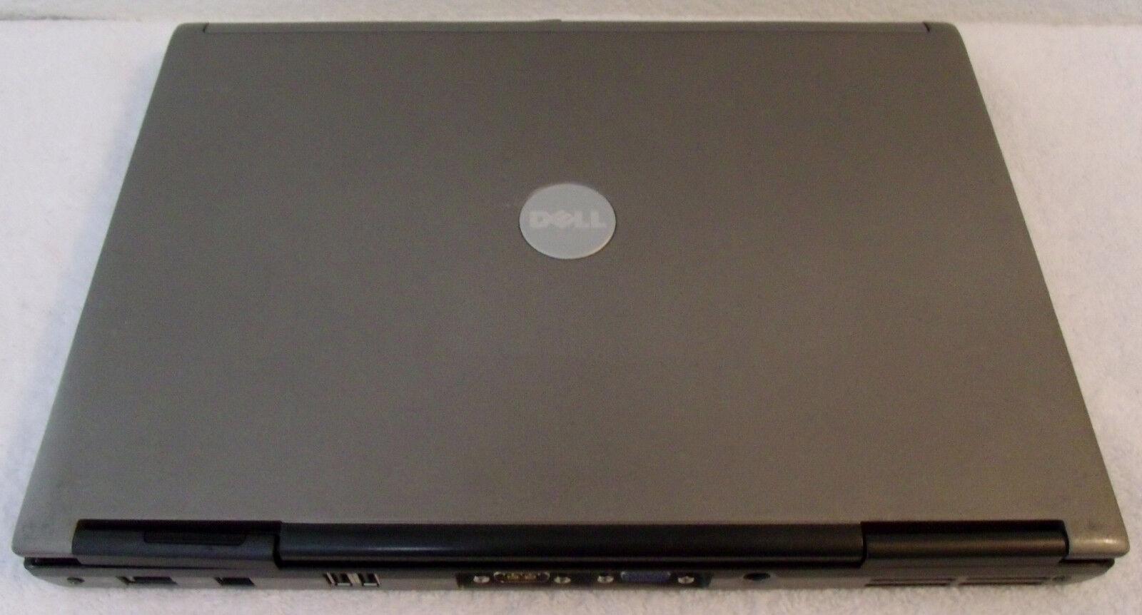 DELL Latitude D610 dual Pent m@1.73GHz 40GBHD 1.25GBRAM Win 7 Home bat a/c XLCON