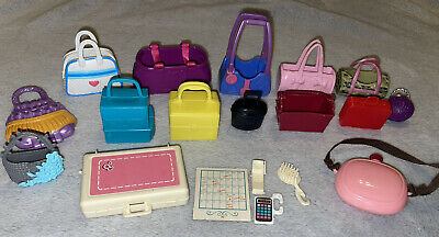 Barbie Doll Accessories Vintage And New Purse Bag Handbag Lot